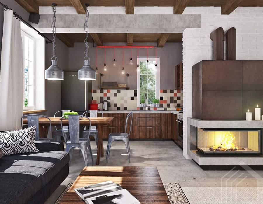 Thiết kế nội thất nhà phố diện tích nhỏ đơn giản