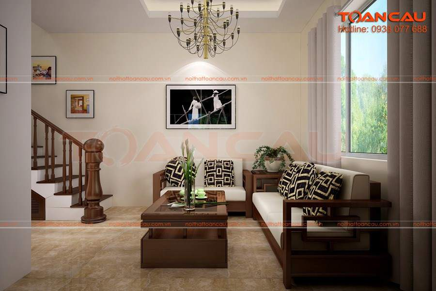 trang trí tường phòng khách nhà ống phù hợp với mọi phong cách thiết kế