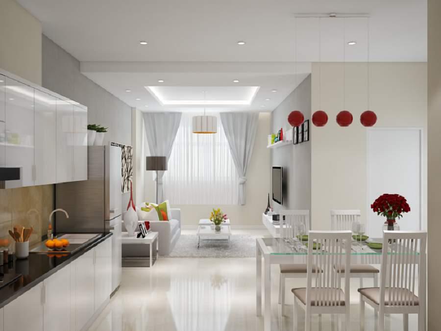 Thiết kế nội thất phòng khách cho người mệnh kim đẹp ưng ý