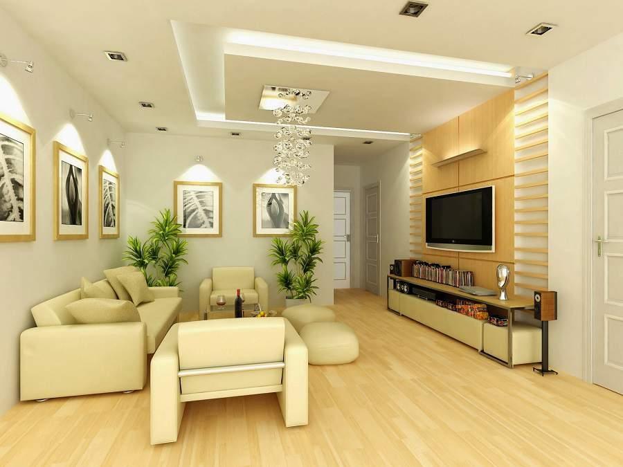 Thiết kế nội thất phòng khách cho người mệnh kim sang trọng