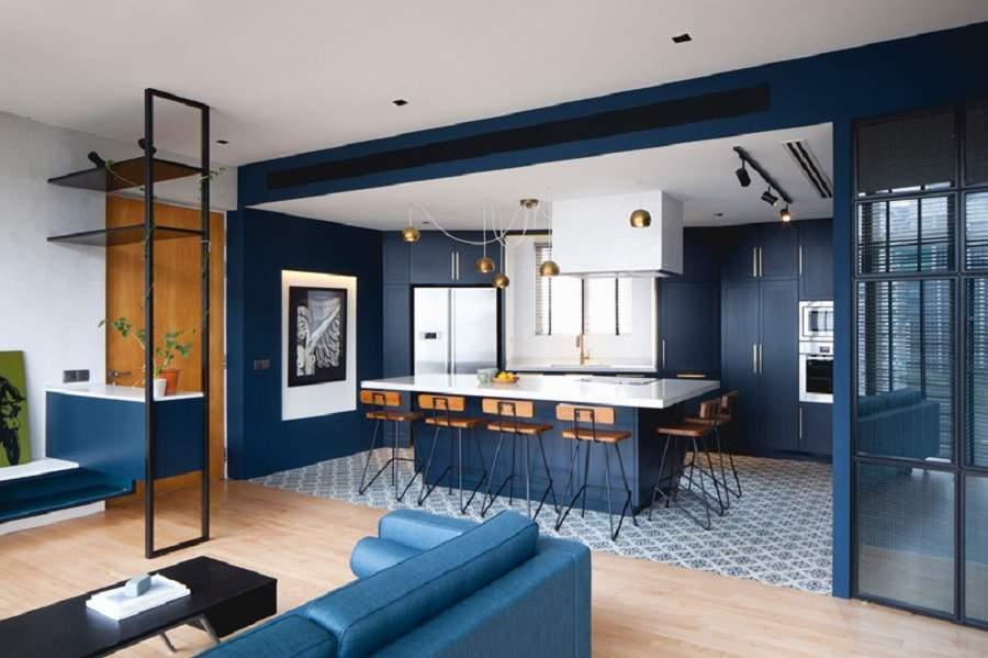 Thiết kế nội thất phòng khách cho người mệnh thủy cho nhà đẹp