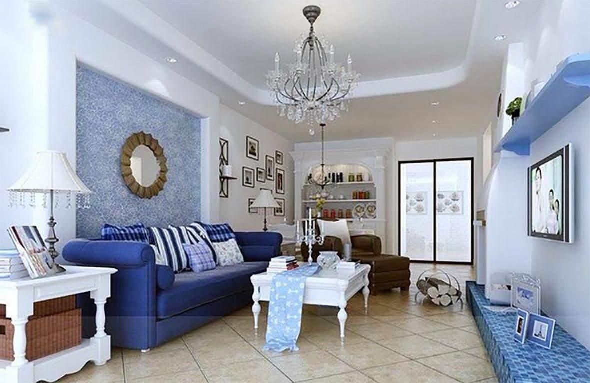 Thiết kế nội thất phòng khách cho người mệnh thủy