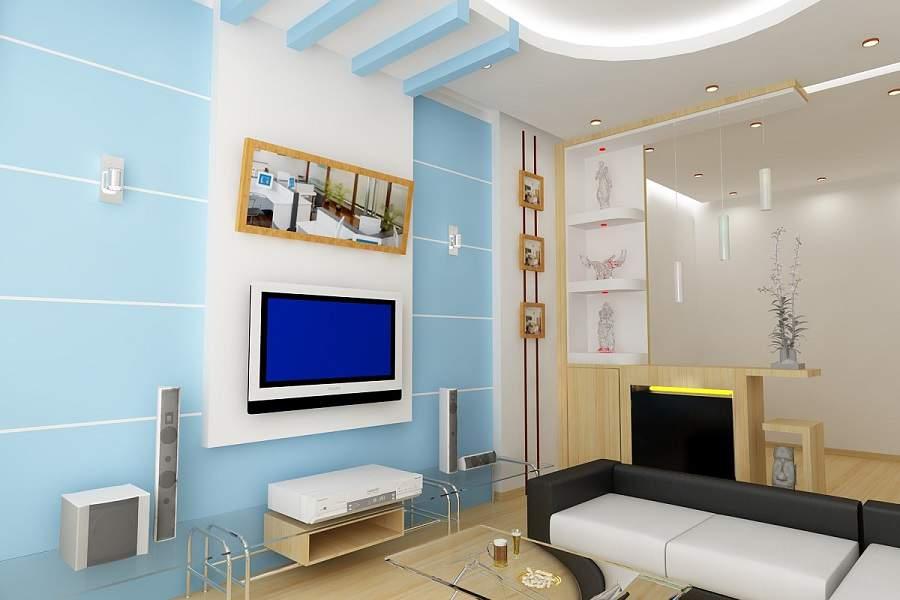 Thiết kế nội thất phòng khách cho người mệnh thủy dẹp ưng ý nhất