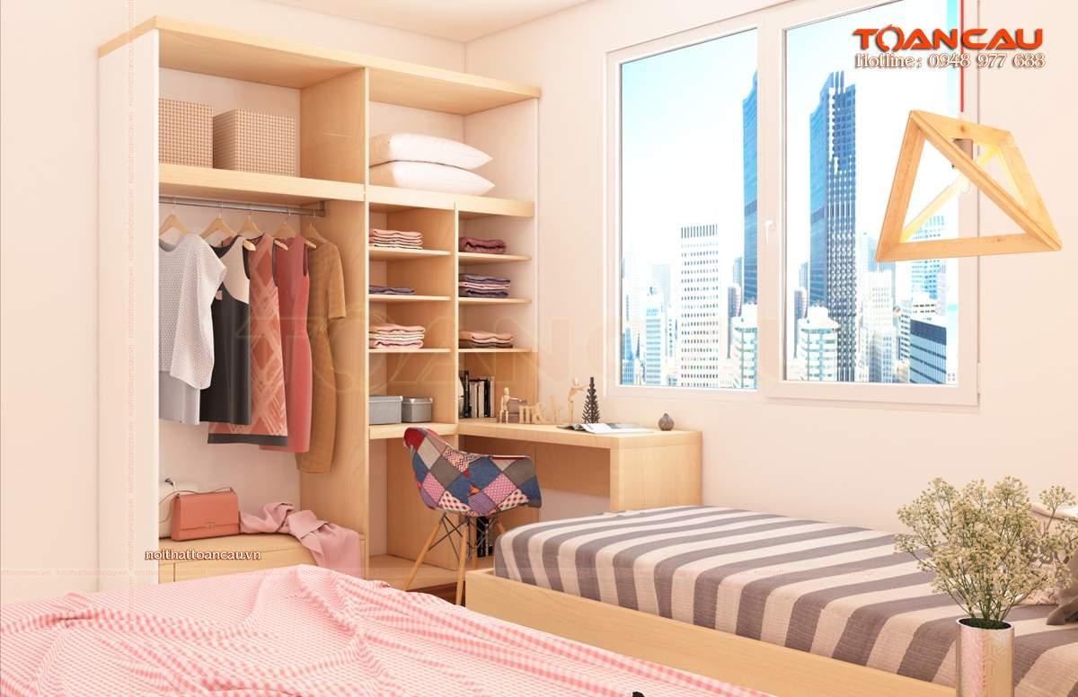 Cách sắp xếp đồ đạc trong phòng ngủ nhỏ cho trẻ