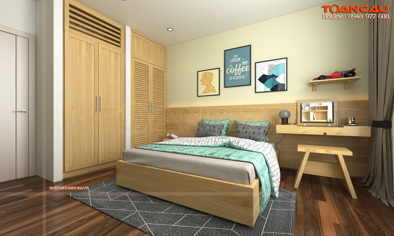 Cách sắp xếp đồ đạc trong phòng ngủ nhỏ đơn giản