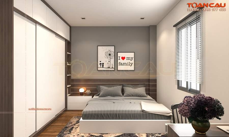 Thiết kế nội thất phòng ngủ nhỏ 15m2 sang trọng