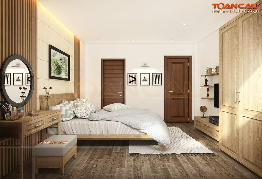 Thiết kế phòng ngủ 15m2 nên bài trí phòng ngủ nhỏ