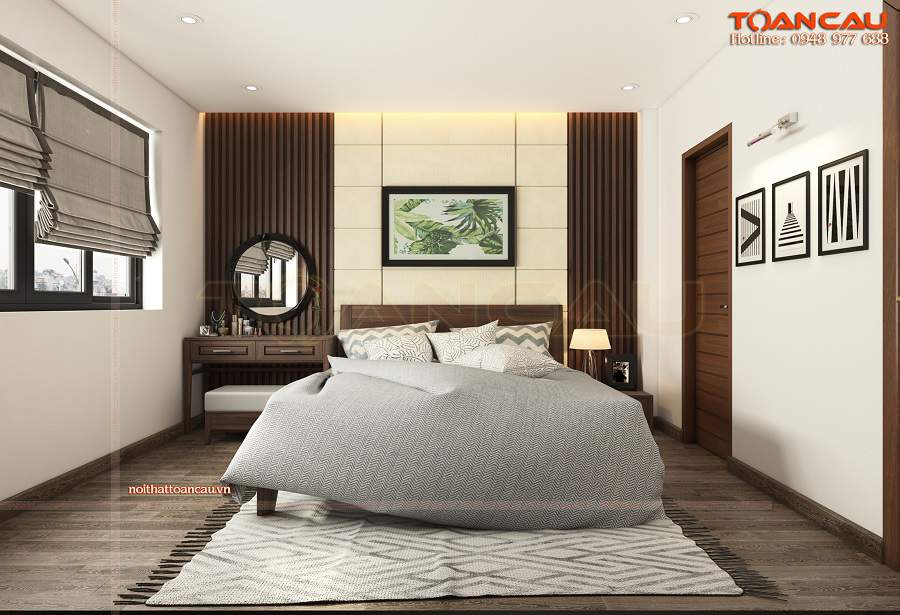 Thiết kế phòng ngủ nhỏ 15m2 hiện đại