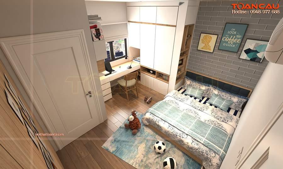 Thiết kế nội thất phòng ngủ 15m2 cho nhà sang