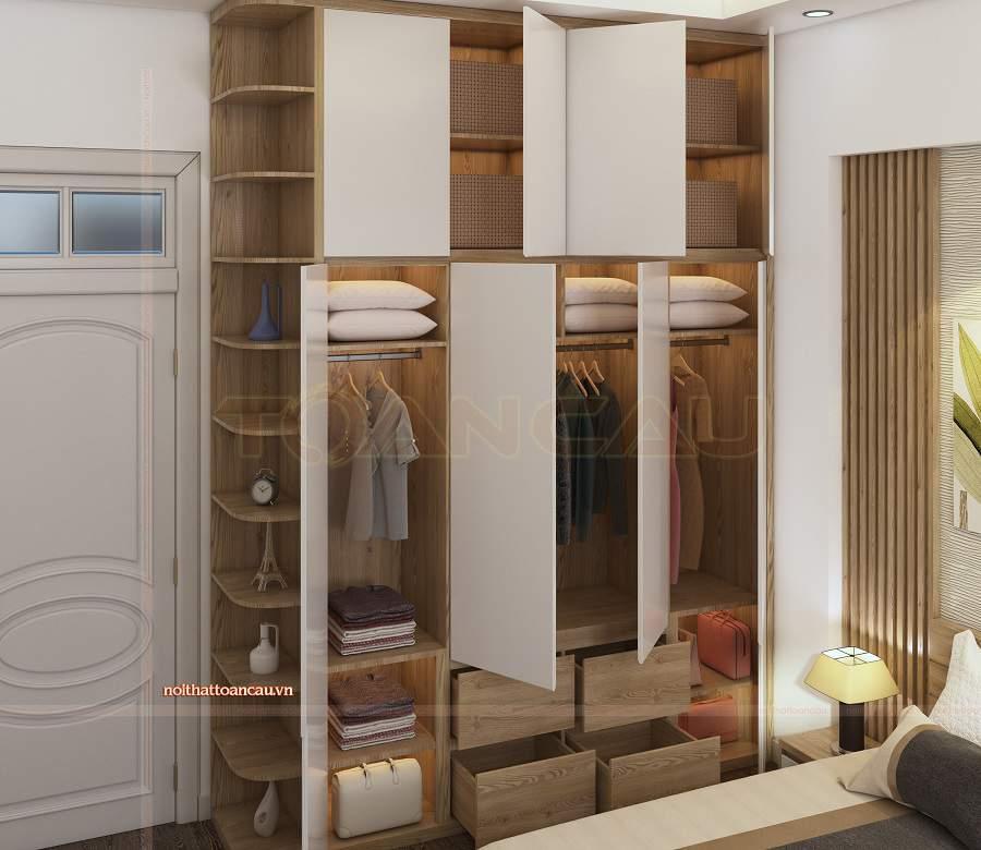 Nên bài trí những mẫu thiết kế phòng ngủ 15m2 hợp lý