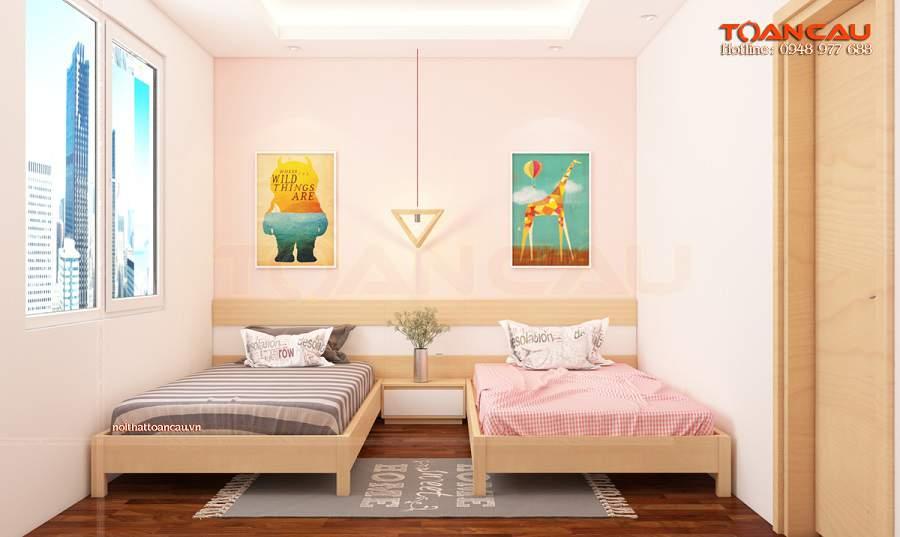 Thiết kế nội thất phòng ngủ 15m2 ánh sáng là rất cần thiết