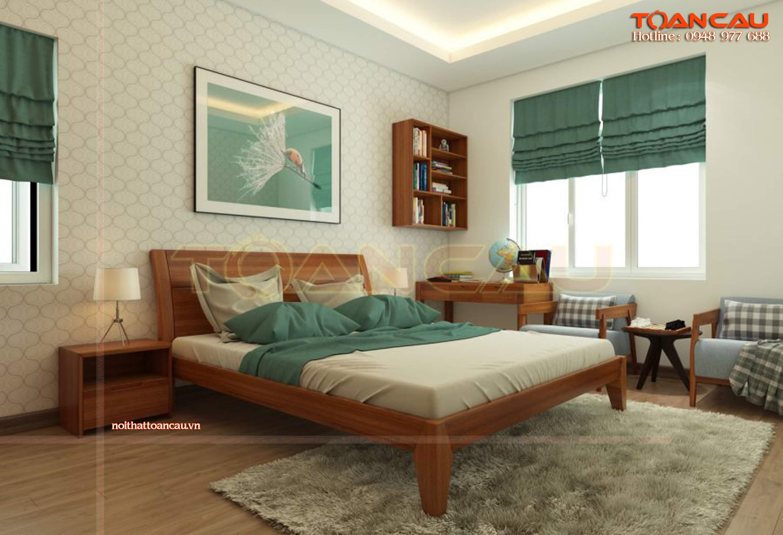Thiết kế nội thất phòng ngủ 25m2 đẹp nhất