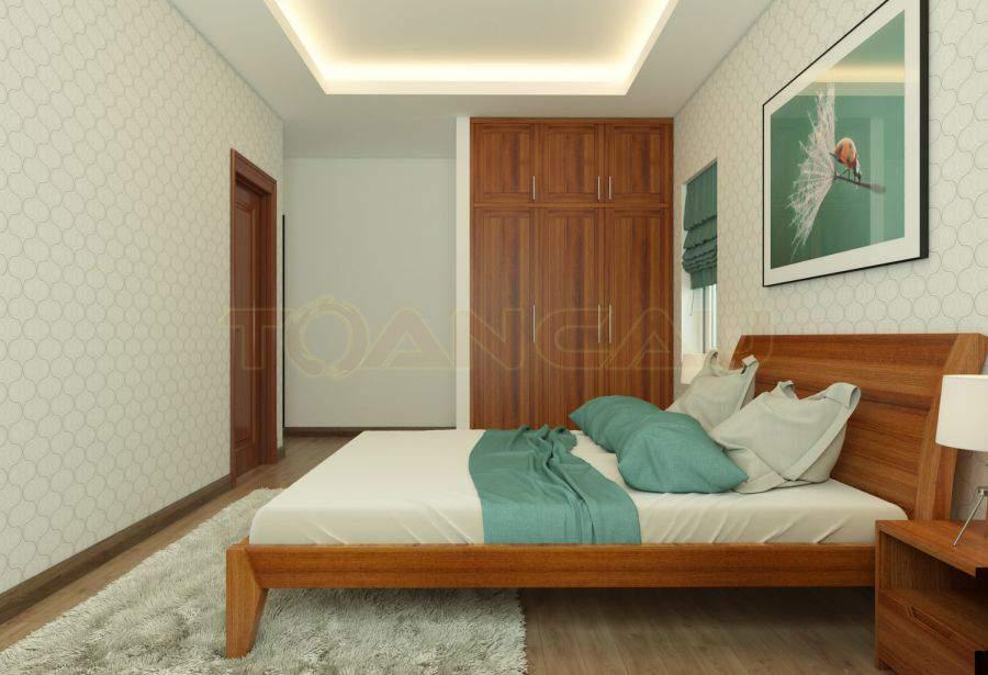 Bộ giường tủ gỗ xoan đào giá rẻ
