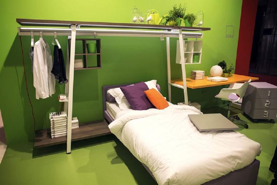 Thiết kế nội thất phòng ngủ 10m2 đơn giản
