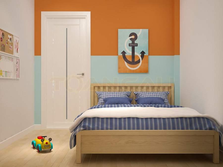 Thiết kế phòng ngủ nhỏ 20m2 phòng ngủ bé trai