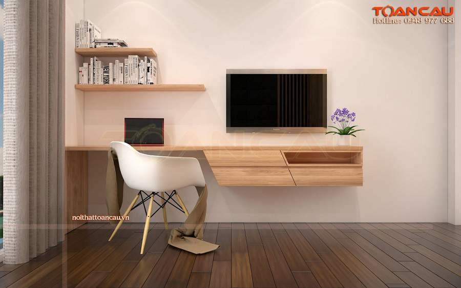 Thiết kế phòng ngủ 20m2 bái trí nội thất hợp lý