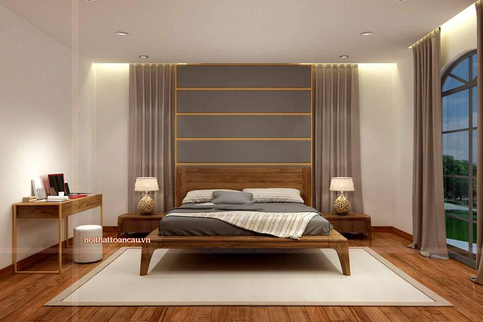 Thiết kế nội thất Vinhome Hải Phòng cho phòng ngủ hiện đại