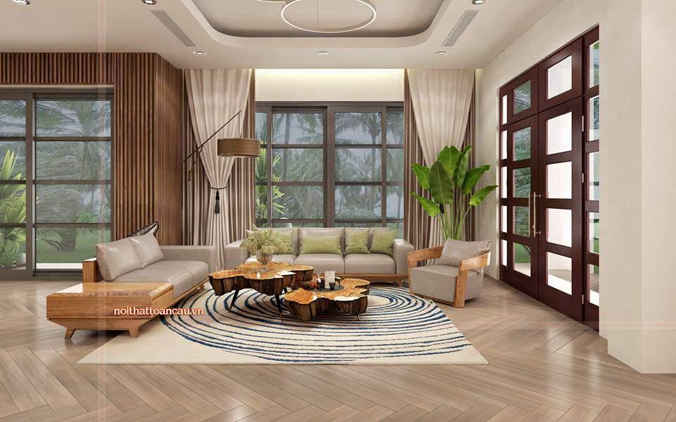 Thiết kế nội thất căn hộ Vinhome Hải Phòng theo không gian mở