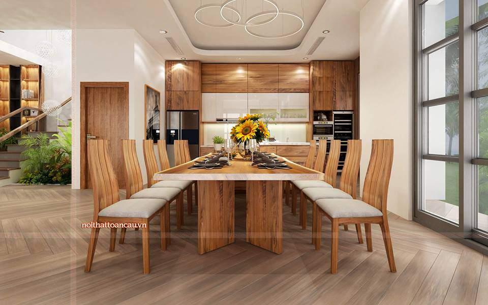 Thiết kế nội thất đẹp tại Vinhome Hải Phòng sang trọng