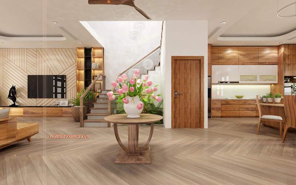 Thiết kế nội thất Vinhome Hải Phòng đơn giản