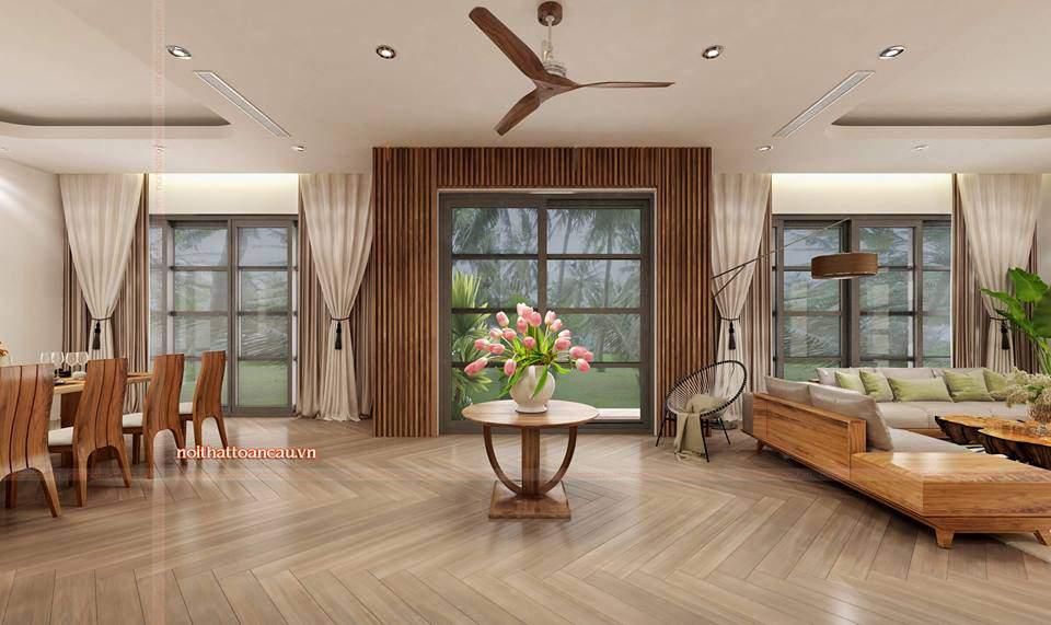 Thiết kế nội thất căn hộ Vinhome Hải Phòng trang trí đẹp cho căn phòng