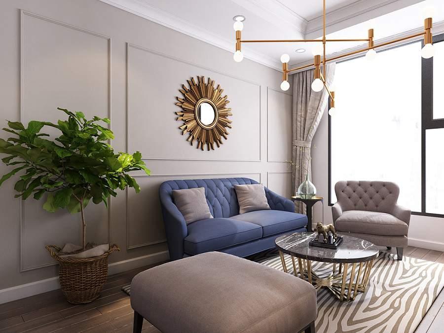 Trang trí phòng khách với cây xanh hợp phong thủy