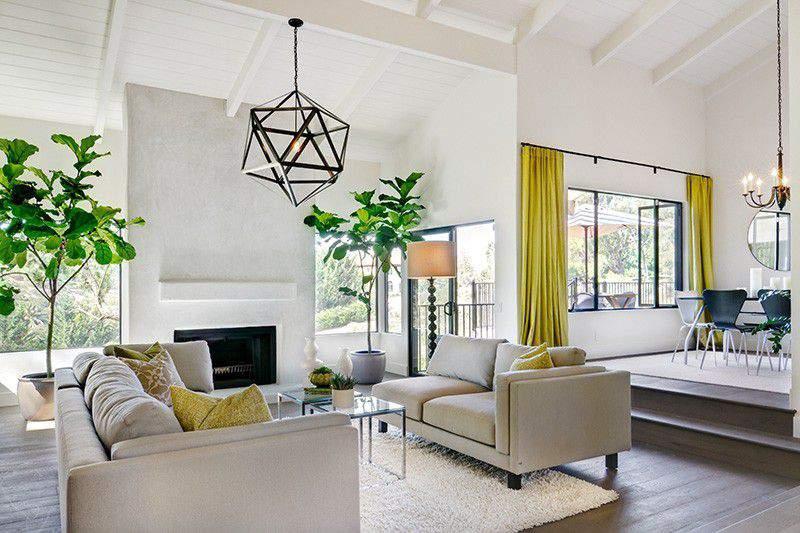 Thiết kế nội thất phòng khách hợp phong thủy