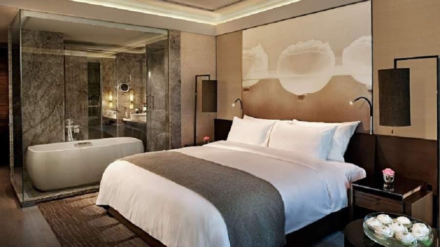 Thiết kế phòng ngủ 16m2 có toilet