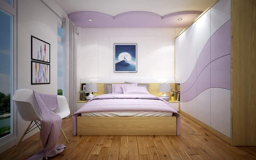 phòng ngủ hàn quốc đơn giản