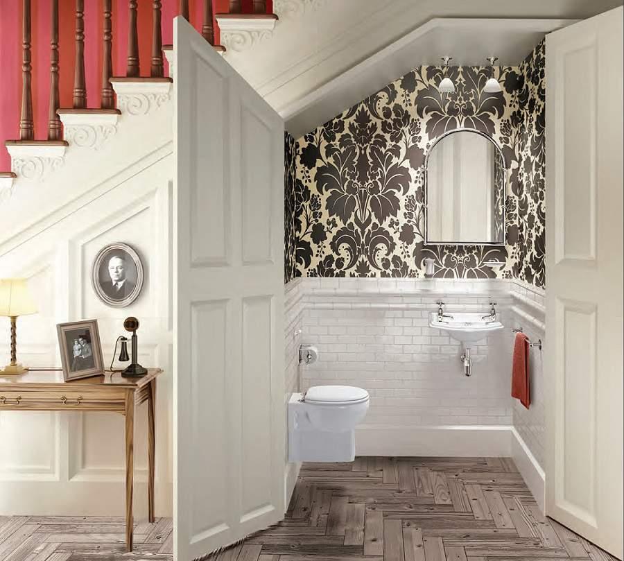 mẫu thiết kế nhà vệ sinh dưới gầm cầu thang