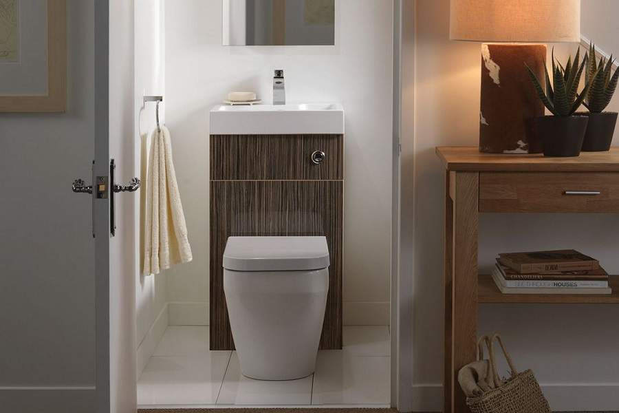 Thiết kế phòng tắm dưới gầm cầu thang