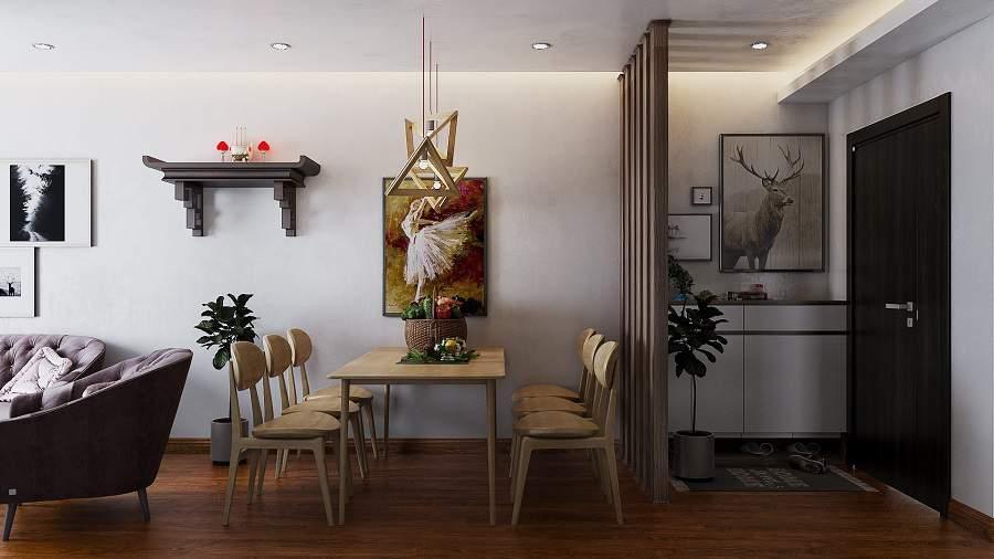 Bài trí nội thất thông minh cho căn hộ diện tích nhỏ