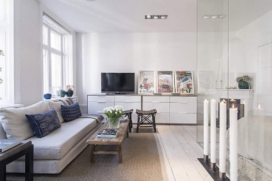 Thiết kế vách ngăn phòng khách và bếp đảm bảo tính lịch sự