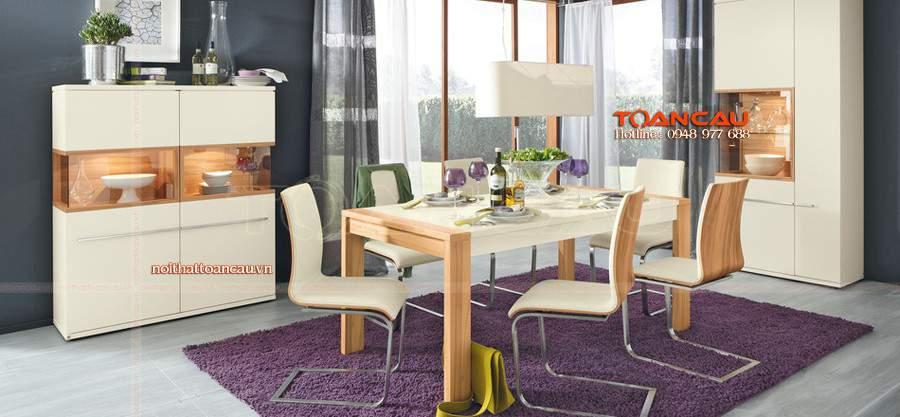 Nhẹ nhàng và bắt mắt với những mẫu bàn ghế đẹp