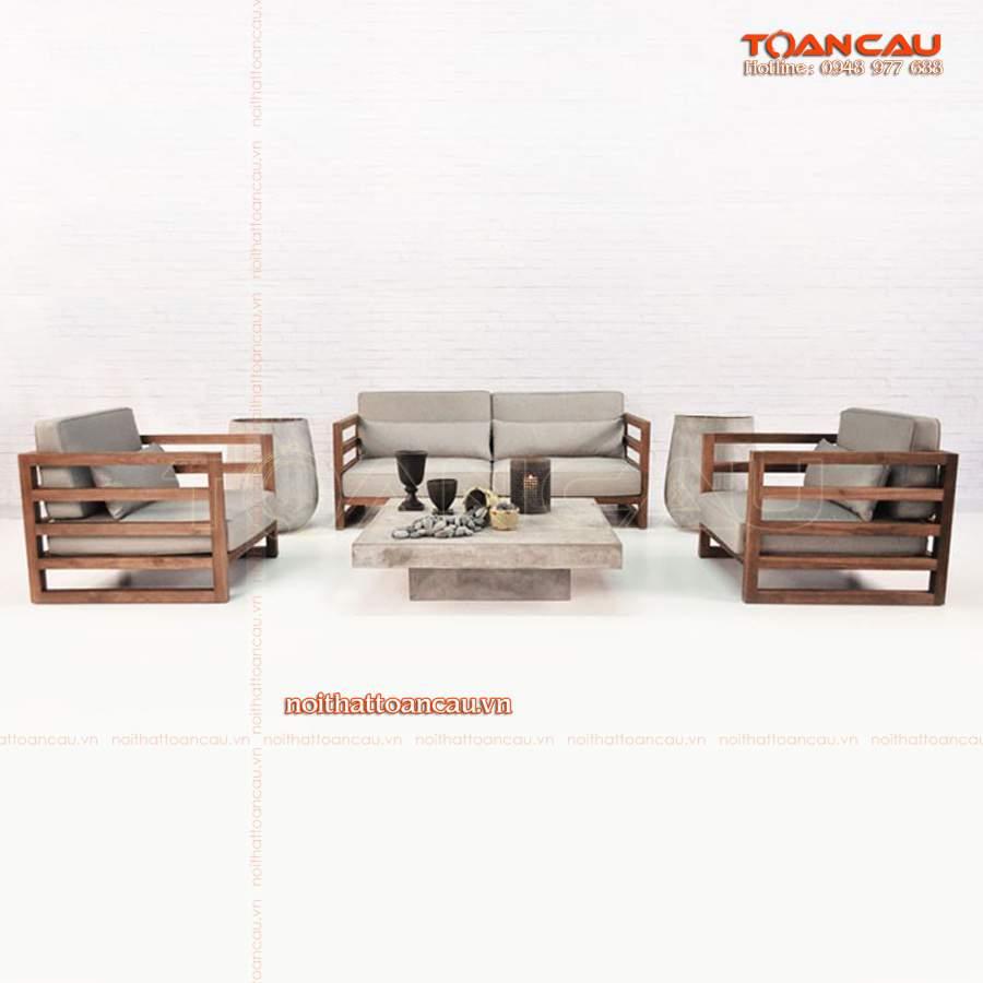 mẫu bàn ghế sa lông gỗ đẹp
