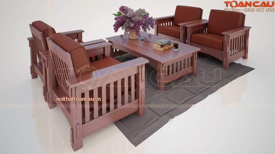 những bộ bàn ghế gỗ đẹp mang phong cách truyền thống