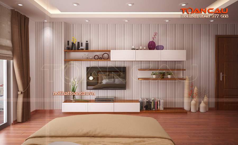 Lên ý tưởng cho nội thất phòng khách bằng gỗ tự nhiên