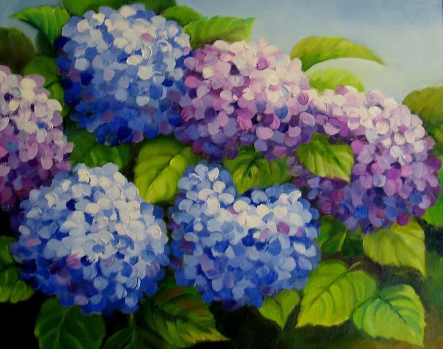 Treo tranh tĩnh vật lọ hoa và quả đơn giản phù hợp mọi nhà