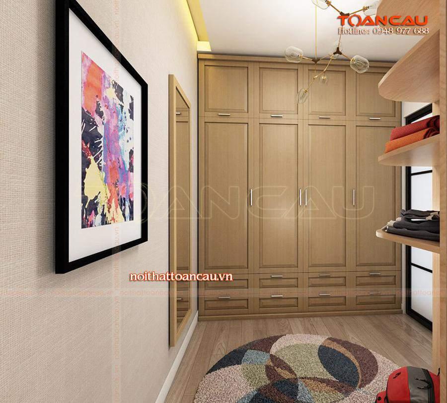 Mẫu tủ đựng quần áo - tủ áo ưa chuộng nhất hiện nay, tủ thiết kế với giá rẻ tại Công ty nội thất Toàn Cầu.