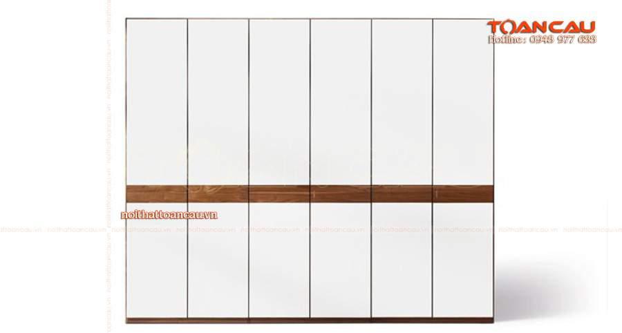 mua tủ gỗ đựng quần áo tại nội thất Toàn Cầu