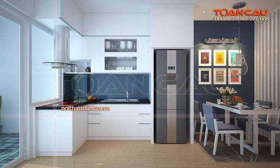 hình ảnh nhà bếp đơn giản tiện ích nhất