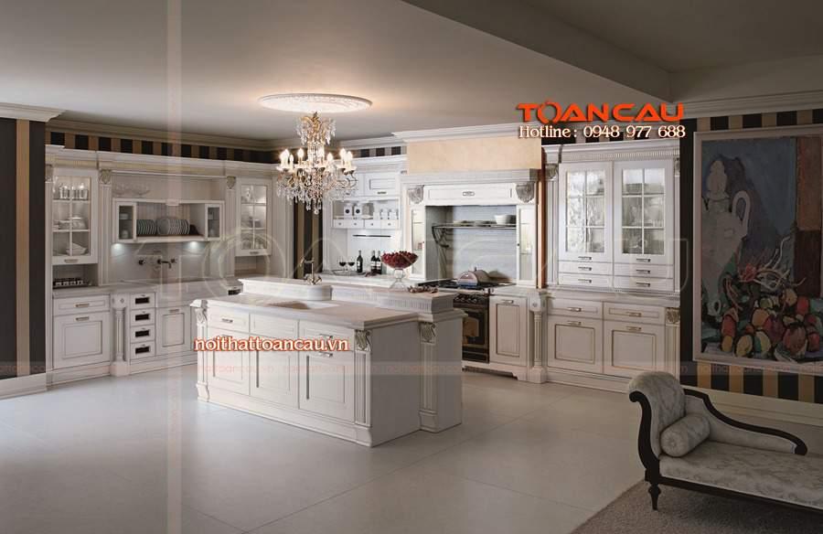 thiết kế nhà bếp diện tích nhỏ đẹp đa năng