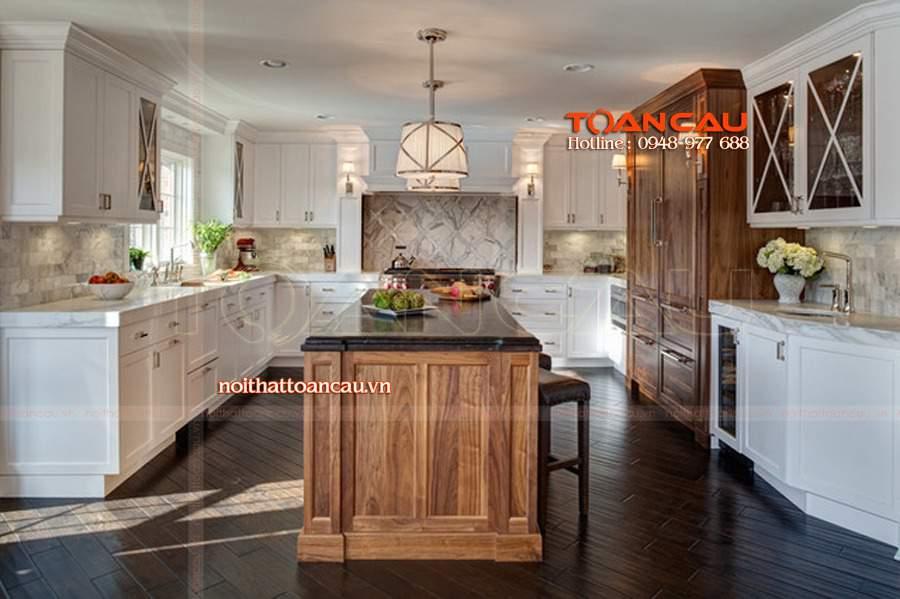 thiết kế nhà bếp diện tích nhỏ rất tiện ích