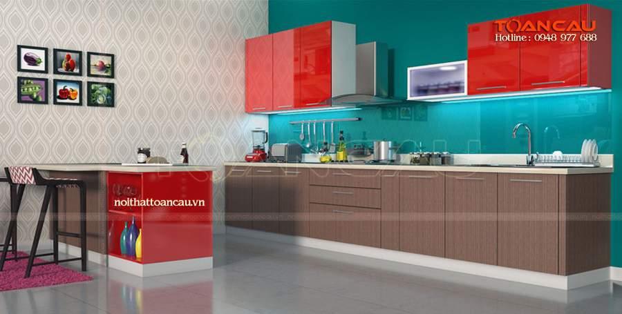 tủ bếp hiện đại được yêu thích nhất