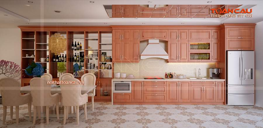 Thiết kế phòng bếp và nhà vệ sinh cho nhà ống