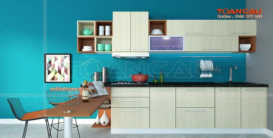 phòng bếp chung cư đẹp tuyệt vời