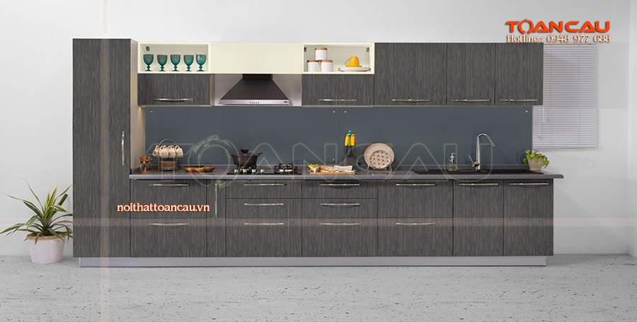 thiết kế tủ bếp cho nhà chung cư đẹp hiện đại