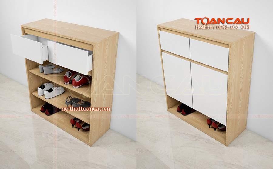 tủ giày gỗ đẹp