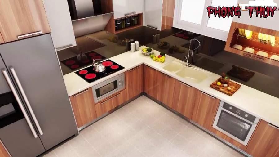 Tủ lạnh có được để đối diện với bếp