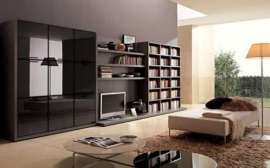 Tủ tường kết hợp kệ tivi cho nhà xinh